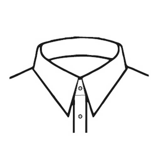 C2 – Narrow Straight Collar Point