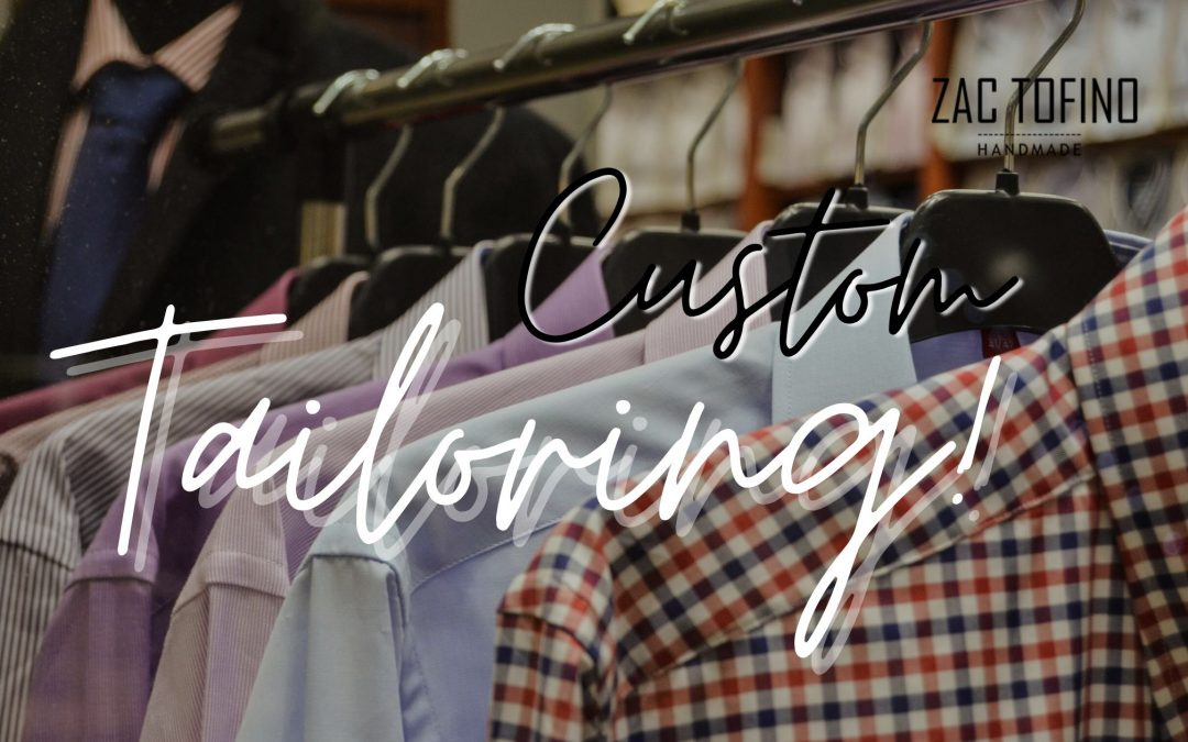 Say Hi To Custom Handmade Shirts by Zac Tofino, Toronto Canada